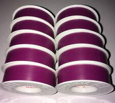 10 Rollen Coroplast Isolierband VDE Elektriker Klebeband 15mm X 10m rot