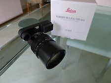 "Leica 135mm ""M"" f/2.8 Elmarit Lens (Balsam Fault), cosmetically Near MInt"