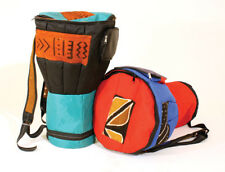 Mud Cloth & Canvas D'Jembe Drum Bag, Carrying cases for Djembe Drums.
