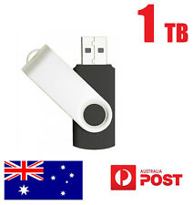 1TB USB 2.0 Flash Ultra Drive Disk Memory Stick Pen Thumb Storage Swivel Black