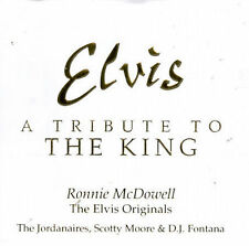 Elvis: A Tribute to the King by Ronnie McDowell (CD, Jun-1997, Intersound)