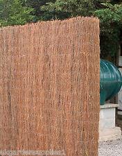 5m x 2m Brushwood Screening - Garden Thatch Screening Roll - Fencing - Fence