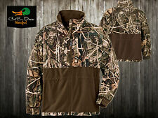 DRAKE WATERFOWL MST EQWADER PLUS FULL ZIP JACKET COAT SHIRT MAX4 CAMO 2XL