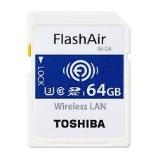 TOSHIBA FlashAir SDXC 64GB SD-UWA064G UHS Speed Class3 (Class10) / with TRACKING