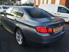 2012 BMW 520D 2.0 M-SPORT S/S FULL LEATHER, AUTO, SUPERWIDE PRO-SAT NAV, 6 SERVS