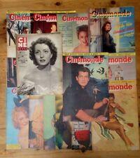 LOT 19 Revues Cinéma Cinémonde/Ciné revue Années 50