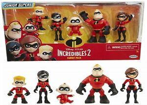 Incredibles 2 Family 5-Pack Junior Supers Action 3+ Toy Violet Dash Jack Jack