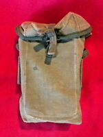 Vietnam War Era Canvas Bag Used Australian Military Issued 1970s