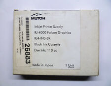 Original Mutoh RJ4-INS-BK Ink 110ml RJ-4000 RJ-4100 Falcon Graphics Boxed