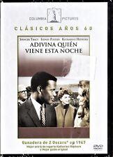 ADIVINA QUIÉN VIENE ESTA NOCHE Stanley Kramer Tarifa plana envío dvd España 5€