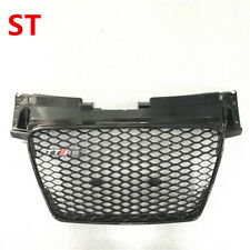For Audi TT TTS 2008-2014 Black Front Mesh Grille Grill To TTRS Style