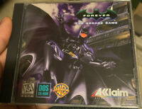 Batman Forever (PC, 1996) Dc Comics Dos Vintage Video Game Vntg Pc Oop Rare