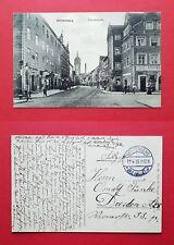 AK WITTENBERG 1915 Blick in die Schloßstraße mit Ladengeschäften   ( 36771