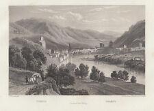 Trento 1840 bulino Frommel