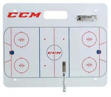 CCM Ice Hockey Coaching / Tactic Board With Clip & Pen - 20 x 16 inches