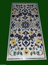 """60"""" x 36"""" Marble Coffee Center Table Top floral Inlay Home & Garden"""