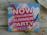 Now That's What I Call a Summer Party 2018 - 3 x Cds - New - Free uk Postage