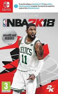 NBA 2K18 (Nintendo Switch)  ** BRAND NEW & SEALED UK GAME ** FAST DELIVERY **