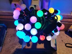5M muti color electric European Plug-in 50 LED Berry Ball  Lights holiday Party