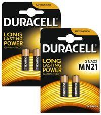4 Pack Duracell A23 12 Volt Batteries MN21 MN23 23AE 21/23 GP23 23A 23GA