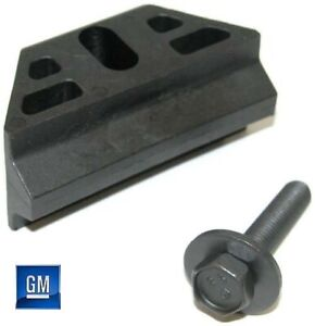 92-14 Suburban 95-14 Tahoe Yukon Battery Mounting Wedge And Bolt NEW GM 393/853