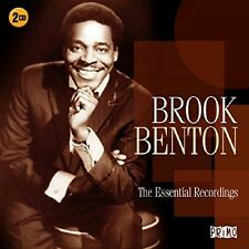 BROOK BENTON - ESSENTIAL RECORDINGS 2 CD NEU