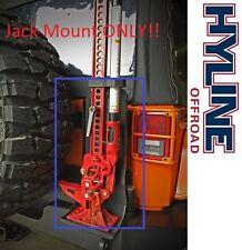 Hyline Offroad Hi-Lift Jack Mount for Tire Carrier for 2007-2016 Jeep Wrangler