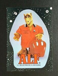 1988 Topps 2nd Series ALF Sticker - No.22