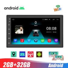 Universal 2G+32G Android 9.1 Car Radio Auto Stereo GPS MP5 Player+Camera