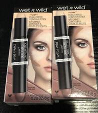 Lot 2 Wet n Wild MegaGlo Dual-Ended Contour Stick, 751A Light Medium New