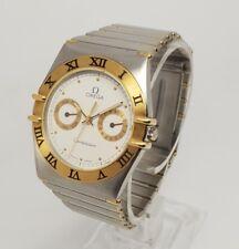 Omega 396.1070 Constellation Gold & Steel Day Date Quartz 34mm Watch
