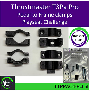 Playseat Challenge Thrustmaster T3Pa Pro Pedal to frame clamps