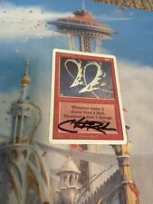 Magic the Gathering - Chris Rush Signed -1x Manabarbs - Revised