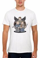 Supernatural Dean Sam Cas Funny Cool Men Women Vest Tank Top Unisex T Shirt 1945