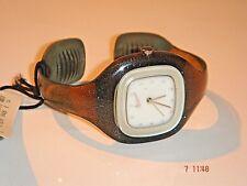 Reloj Analógico Nike Presto Oliva espumoso pequeño Brazalete Diseñador 11-302 Rara