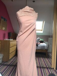 city of goddess nude dress size 14