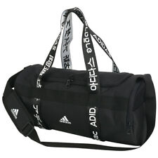 Adidas 4ATHLTS Small Duffle Bag Gym Sports Soccer Training Black FJ9353