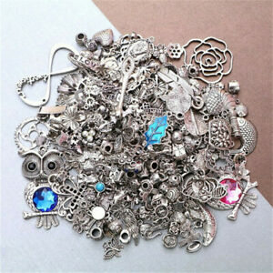 Bulk Tibetan Silver Mixed Charms Pendants For Jewelry DIY Making Craft Findings