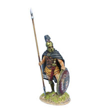 First Legion: AG064 Greek Hoplite Standing with Cloak and Dory