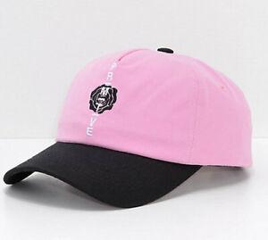 NWT Men's Primitive Moods Rose Pink Strapback Dad Hat