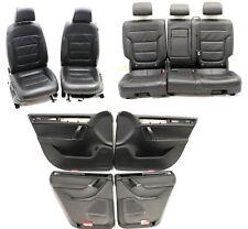 VW Touareg 7P Lederausstattung Leder Sitze Mechanisch Sitzheizung Schwarz Sitz