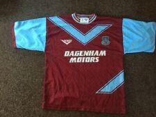 *ORIGINAL* WEST HAM UNITED 1993/94/95 FOOTBALL HOME SHIRT RETRO PONY Size L
