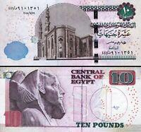 Egypt 10 Pounds 19-07-2018, UNC, P-New Date