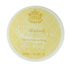 Argan Oil Hair Mask Cream Gold Moisturising Dry Damaged Hair Extensions Cougar