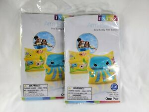 2Pack  Kids Sea Buddy Arm Bands.  Summer Pool Party Etc Intex Lote of 2