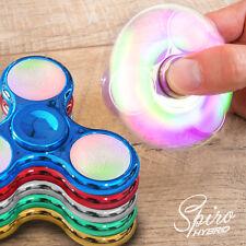 Fidget Spinner mit LED Beleuchtung Hand Finger Spiner Tribar Kreisel Anti Stress