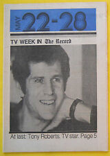 Tony Roberts ROSETTI AND RYAN Bergen County NJ Record TV Week guide May 22 1977