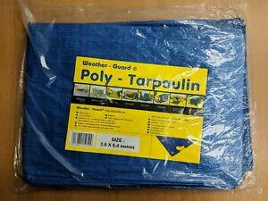 Weather-Guard Poly-Tarpaulin 3.6m x 5.4m