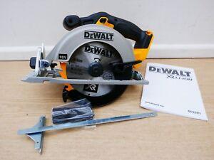 BRAND NEW DEWALT XR 18V DCS391 165MM CIRCULAR SAW BARE UNIT + FENCE