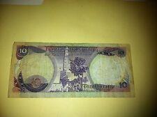 Central Bank of Iraq 10 Dinars